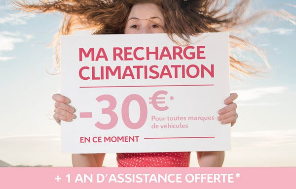 OFFRE RECHARGE CLIMATISATION