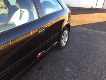 Réparation aile arrière Audi au Garage Nogues Citröen à Morcenx