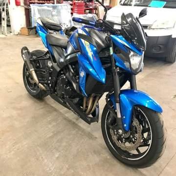 Peinture moto Suzuki 750 GSXS